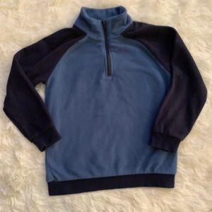 NWOT Gymboree boys half zipped fleece sweatshirt